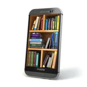 電子書籍の本棚のイメージ