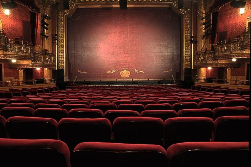 劇場の全体図の写真