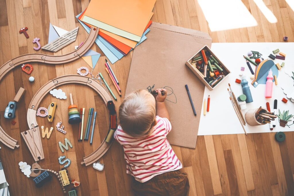 育児のイメージ