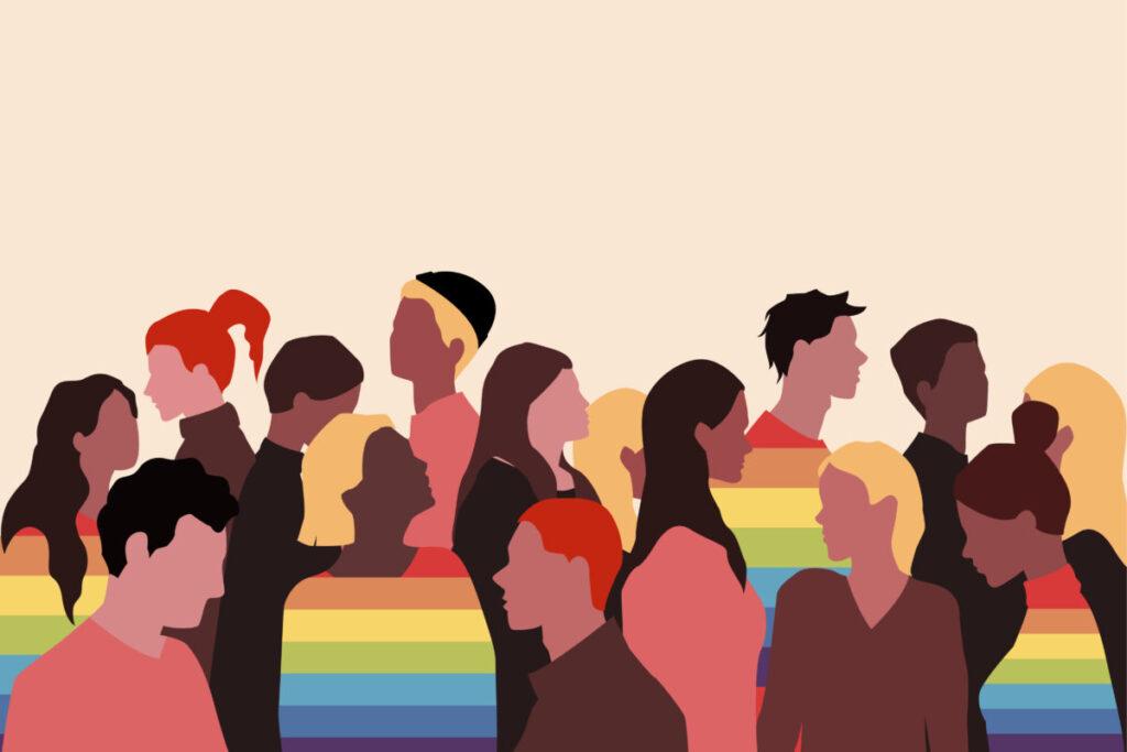 LGBTQ+のイメージ